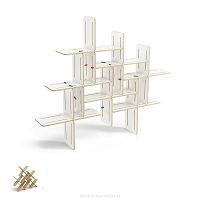 Dynks modular shelf (7 pieces)