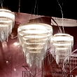 Ceremony Fume Small - dostojna, nowoczesna lampa zaprojektowana przez Bruno Rainaldiego dla SLAMP