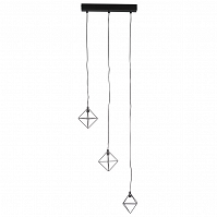 Talisman PUZURS 3 lights Black