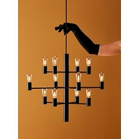 MANOLA Chandelier Black 12