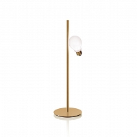 IDEA Table Brass lampa stołowa SLAMP