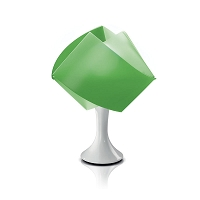 Gemmy table Lamp Green