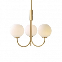 Ballon Chandelier Brass