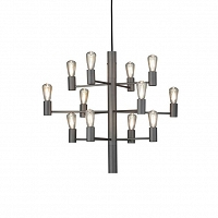 Manola chandelier grafit 12