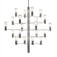 Żyrandol MANOLA Chandelier Chrom 20