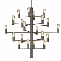 Manola chandelier grafit 20