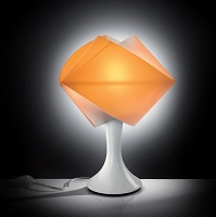 Gemmy table Orange
