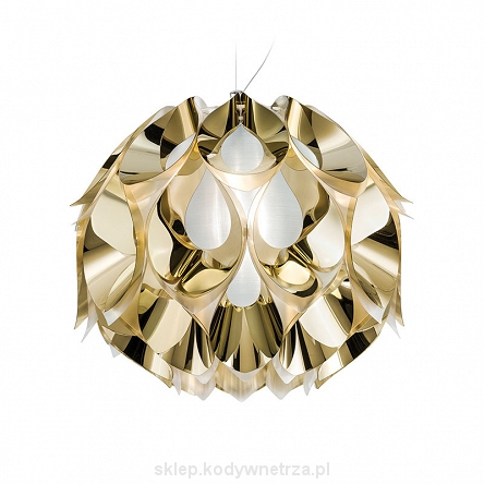 Flora Medium Gold - piękna designerska lampa zaprojektowana przez Zanini De Zanine'a dla SLAMP
