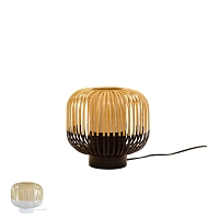 Bamboo table lamp S