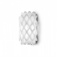 Charlotte Wall Applique White