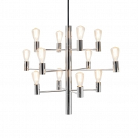Manola chandelier chrom 12